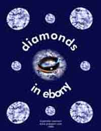 diamonds in ebony
